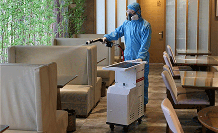 Jereh Launches Electrostatic Disinfection Sprayers for COVID-19 Control