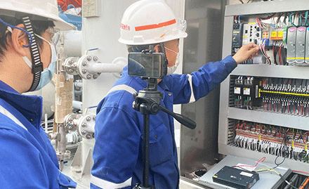 Live Acceptance Test on Jereh Offshore Compressor Packages Accomplished