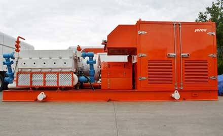 Jereh New Generation 7000hp Electric Frac Pumper Passes Test